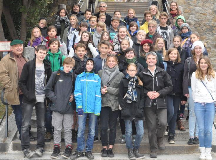Gruppenbild beim Ausflug in das nahe Bautzen